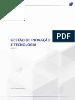 aula sobre inovação tecnológica