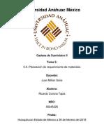 Tema 5 - Planeación de Requerimientos de Producción (1)