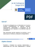 Plan de contingencia dengue
