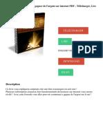 La formule magique pour gagner de l'argent sur internet PDF - Télécharger, Lire.pdf
