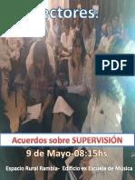 II REUNIÓN de DIRECTORES Urbanos, Rurales Con Ayudantía y de Colegios Privados de SORIANO