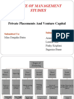 Privateplacement & Venture Capital