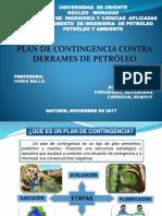 Plan de Contingencia Contra Derrames de Petroleo