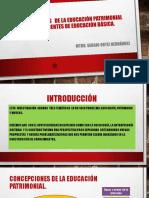 Concepciones y Estrategias de La Educación Patrimonial Entre