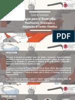 """Presentación del Curso """"Agua para el Desarrollo"""