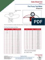 Fire Pump Test Meter (6.8)
