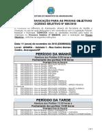 05 Convocação Da Prova Objetiva PS 686 2018