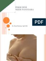 Deteksi Dini Kanker Payudara 091018