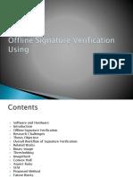 Offline Signeture Recognition.ppsx