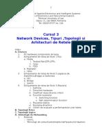Curs3 Network Devices,Tipuri,Topologii Si Arhitecturi de Ret