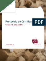 SP - UTZ Certification Protocol 4.0
