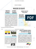 CONFLICTO ARMADO - By Paula Páez [Infographic]