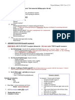 0 OBSTETRIC Examination Outline