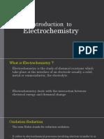 Electro Chemistry