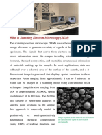 What is Scanning Electron Microscopy
