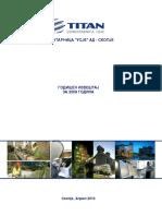 Godisen i Finansiski Izvestaj 2009