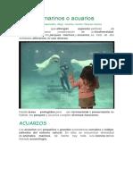 Parques marinos o acuarios.docx