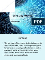 Zero Day Attacks - Jason Kephart