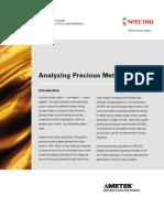 Wp Xrf Analyzing Precious Metals