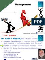 Risk Management in Pv