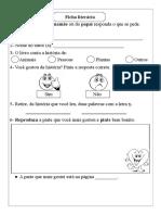 Ficha Literaria - Rodizio 1
