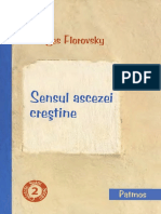 Georges Florovsky - Sensul ascezei creştine - Curs de patrologie (2009, Patmos).pdf