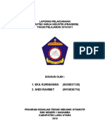 Contoh Laporan Prakerin PSG SMK TKJ