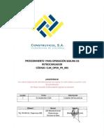 CLM OPER PR 005 Proced Oper Seg Retrocargador Rev1