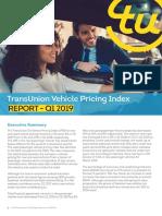 TransUnion VPI Q1 2019 - Report