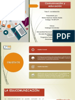 Comunicación y Educacion Fase 5-Socialización Mario Alzate