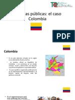 Políticas públicas Colombia