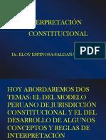 Interpretacion Constitucional 2 Eloy Espinosa Saldana