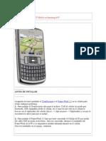 Como Instalar Garmin XT Mobile en Samsung i637