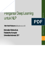 Kursus Deep Learning