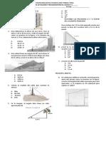 Evaluacion de Razones Trigonometricas