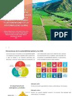 Dimensiones de la sostenibilidad global y los ODS en el Valle del Cauca
