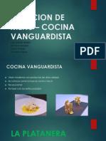Creacion de Menu – Cocina Vanguardista