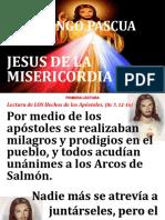 II Domingo Pascua Sr de La Misericordia