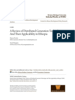 A Review of Distributed Generation Technologies and Their Applica