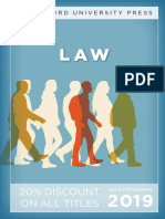 Law Catalog 2019 (Stanford University Press)