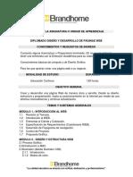 Diplomado Diseño y Desarrollo de Página Web