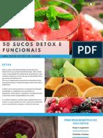 50 Sucos Detox e Funcionais