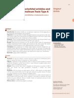 v3 Classificacao Das Rugas Periorbitarias e Tratamento Com a Toxina Botulinica Tipo A