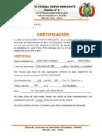 Certificacion - Junta Vecinal - Nuevo Horizonte 17