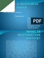 restorative justice report
