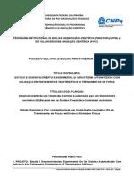 Projeto Pibic 2017 2018 Versão Final