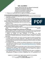 Extracto Del Reglamento 2018 - Inglés Virtual
