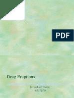 Drug Eruptions- 2-8-06