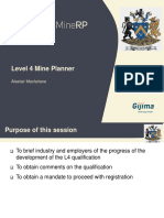 Mine Planner L4 Presentation