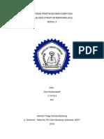 Laporan Praktikum Kimia Komputasi Modul 4
